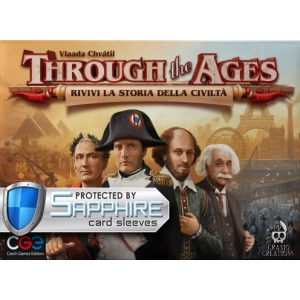 SAFEGAME Through the Ages ITA + bustine protettive
