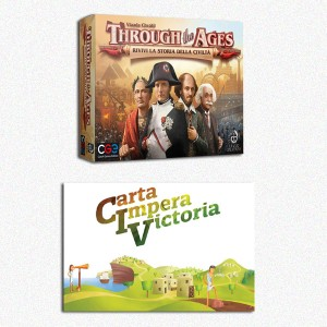 BUNDLE CIV:Carta Impera Victoria ITA + Through the Ages ITA