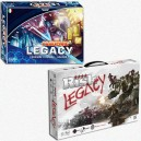 BUNDLE LEGACY Pandemic Legacy (scatola Blu) + Risk Legacy