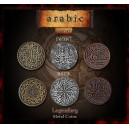 Monete Arabe in metallo (Legendary Metal Coins Arabic Set)