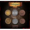 Monete Elfiche in metallo (Legendary Metal Coins Elven Set)