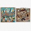 PRETZEL BUNDLE Junk Art + Flick'em Up Wooden Box