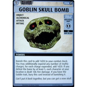 Goblin Skull Bomb - Pathfinder Adventure Card Game: Wrath of the Righteous