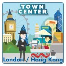 London - Hong Kong: Town Center (4th Edition)