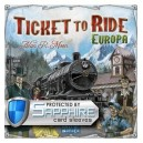 SAFEGAME Ticket to Ride: Europa ITA + bustine protettive