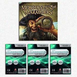 SAFEGAME Merchants & Marauders + 300 bustine protettive