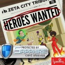 SAFEGAME Heroes Wanted + bustine protettive