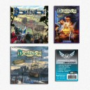 SAFEBUNDLE Dominion ITA: gioco base + Intrigo + Seaside + Alchimia + 1500 bustine