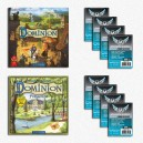 SAFEBUNDLE Dominion ITA: gioco base + Seaside + 800 bustine