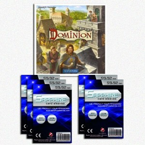 SAFEGAME Dominion Intrigo ITA + 500 bustine protettive
