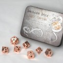 Set 7 dadi metallo (Metal Dice Set - Copper) - 91740
