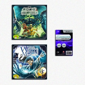 SAFEBUNDLE Ghost Stories + White Moon (espansione) + 100 bustine protettive