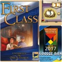 First Class: promo tiles (Deutscher Spielepreis 2017 Goodie Box)