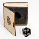 Gemstone Collectors Dice - Blue sand stone - BF08667
