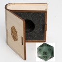 Gemstone Collectors Dice - GreenAventurine - BF08643