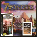 SAFEGAME 7 Wonders (ENG) + esp Leaders + 200 bustine trasparenti specifiche