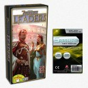 SAFEGAME 7 Wonders Leaders (ITA)+ 100 bustine protettive