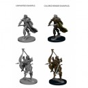 Pathfinder Deep Cuts Unpainted Miniatures - Elf Male Fighter (2 Units)