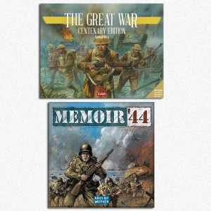 BUNDLE Memoir '44 + The Great War (Centenary Edition)