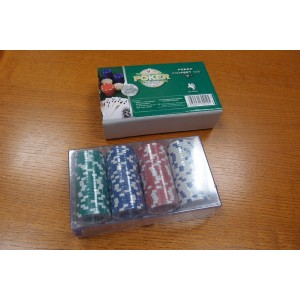 Fiches Poker Chips 100 pz. 11,5g