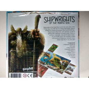 Shipwrights of the North Sea 2nd Edition (danno sul retro)