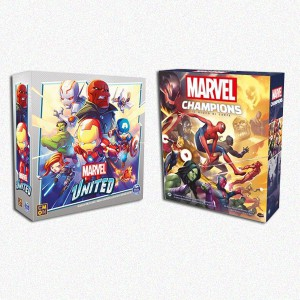 BUNDLE MARVEL: Marvel United + Marvel Champions