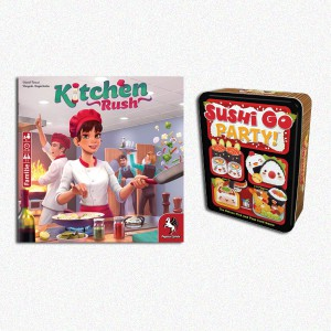 BUNDLE Kitchen Rush (Rev. Ed.) + Sushi Go Party ITA