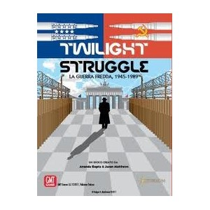 Twilight Struggle Deluxe Ed. ITA (incluse 5 carte promo !)