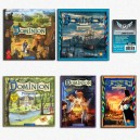SAFEBUNDLE Dominion ITA: gioco base + Intrigo + Seaside + Alchimia + Prosperità + Cornucopia + 1900 bustine