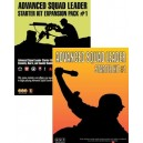 BUNDLE ASL Advanced Squad Leader starter kit 1 + Expansion Pack 1