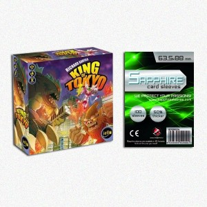 SAFEGAME King of Tokyo ENG + 100 bustine protettive