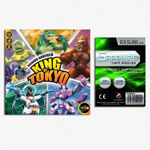 SAFEGAME King of Tokyo ITA + 100 bustine protettive
