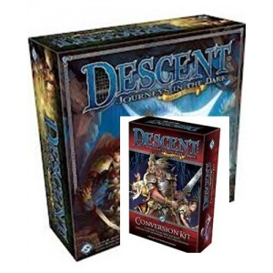 BUNDLE Descent - Journey in the Dark 2nd Ed. + Conversion kit