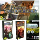 SAFEBUNDLE Wonder Pack + Leaders + Cities + 300 bustine protettive