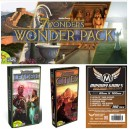 SAFEBUNDLE Catan Island (espansione per 7 Wonders) + Leaders + Cities + 300 bustine protettive