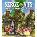 Day of Days: Sergeants Miniatures Game