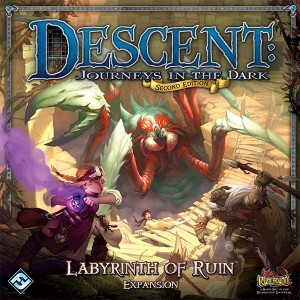 Labyrinth of Ruin - Descent: Journeys in the Dark (2nd Ed.)
