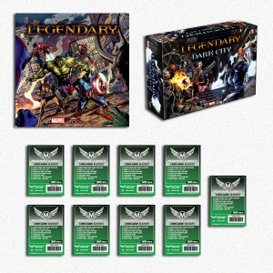 SAFEBUNDLE Legendary: a Marvel Deck Building Game + Legendary: Dark City