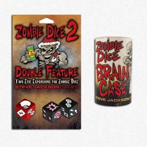 BUNDLE Zombie Dice 2 + Brain Case