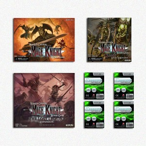 SAFEBUNDLE Mage Knight Board Game ENG + The Lost Legion + Krang Character Expansion + bustine protettive