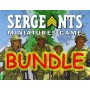 Us/Ger Leader-Team BUNDLE - Sergeants Miniatures Game