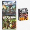 PAINTBUNDLE Zombicide: Toxic CM + Prison Outbreak + Paint Set