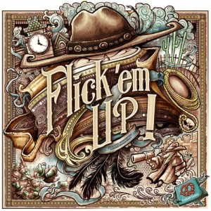 Flick'em Up Deluxe Wooden box