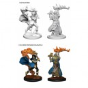 Pathfinder Deep Cuts Unpainted Miniatures - Human Female Cleric (6 Units)